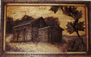 Hand Carved Cabins