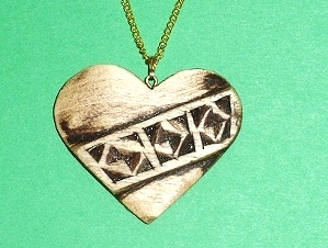 Wood Carved Jewelry
