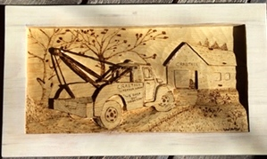 Hand Carved Trucks