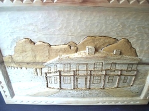 Deep Relief Carving of Mountain View