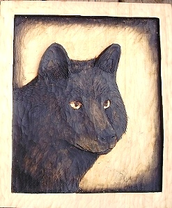 Wood Carved Wildlife: M10189 sold