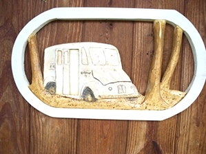 Hand Carved Vehicles
