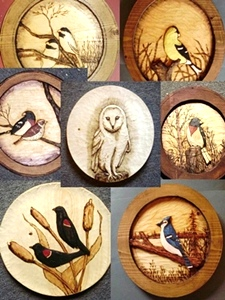 Hand Carved Bird Collection