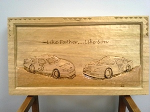 Hand Carved Cars