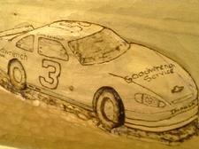 Like Father Like Son      NASCAR Carving