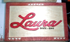 Laura Buick GMC Wall Plaque