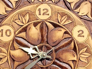 Hand Carved Clocks and More