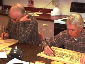 Hand Carving Classes and Workshops