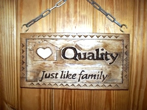 Quality Home Health Sign