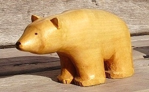 Hand Carved Polar Bear