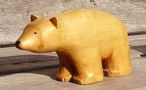 Hand Carved Polar Bear