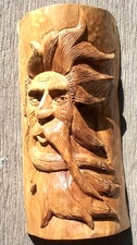 Hand Carved Wood Spirits
