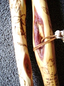 Diamond Willow Walking Sticks