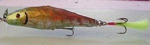Hand Carved Fishing Lures: M10323