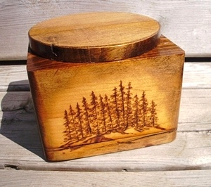 Boxes and Pots made from 140 year old rescued wood