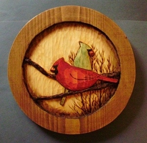 Hand Carved Cardinals
