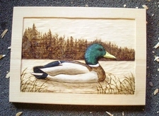 TWord0 Carved Mallard