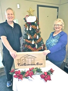 Local woodcarvers' Christmas ornaments help charitable efforts By RICK OLIVO Staff Writer