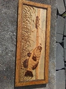 Hand Carved Aquatic Life